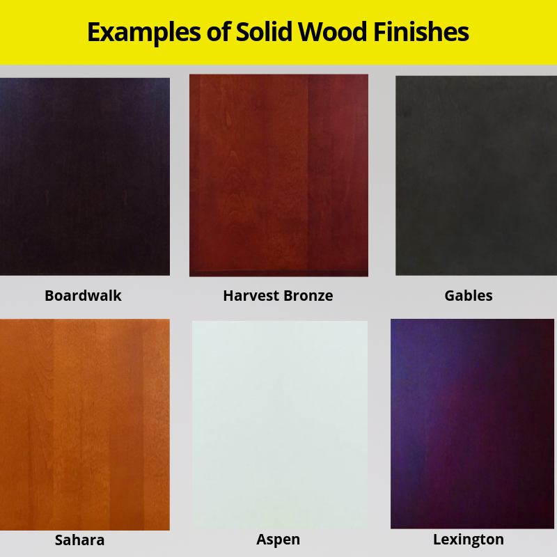 Wood Refacing Examples