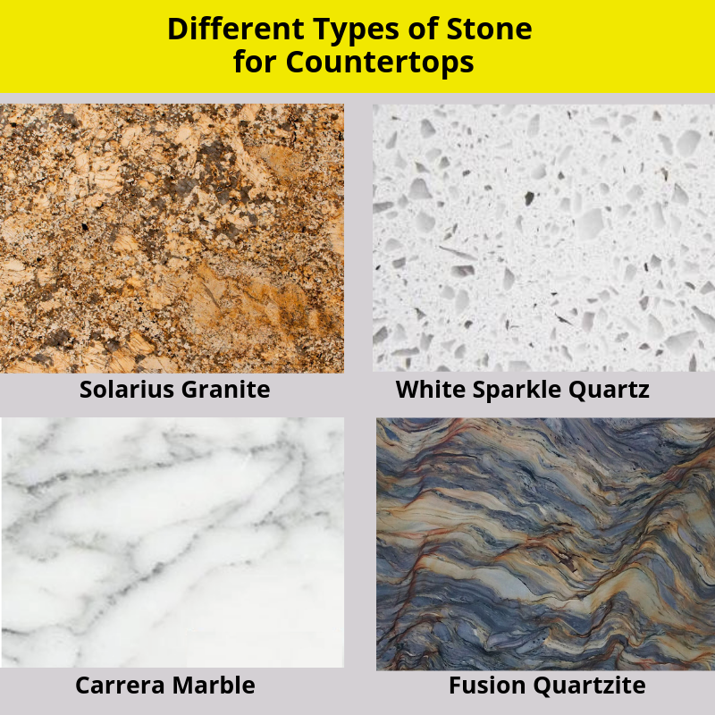 Common Types of Countertop Stone in South Florida